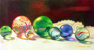 Veronica's Art Gallery - unique colored pencil paintings and drawings